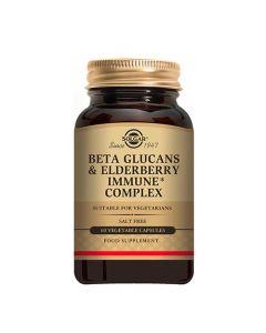 Solgar Beta Glucans & Elderbery Immune Complex 60 Tabs