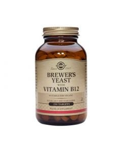 Solgar Brewer's Yeast with vitamin B12 250 Tabs