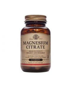 Solgar Citrate Magnesium 200mg 60 Tabs