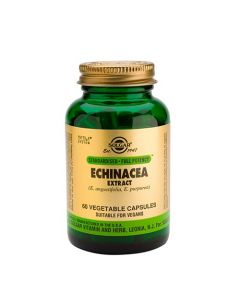Solgar Echinacea Root & Leaf Extract 60 Veg. Caps
