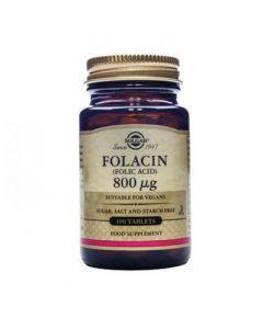 Solgar Folacin Folic Acid 800μg 100 Tabs
