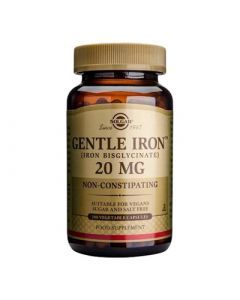 Solgar Gentle Iron 20mg 180 Caps