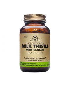 Solgar Milk Thistle Herb & Seed Extract 60 Caps