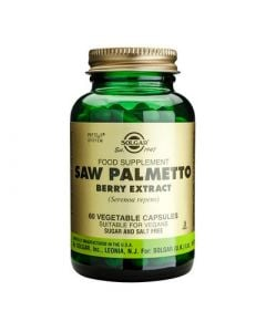 Solgar Saw Palmetto Berry Extract 60 Veg. Caps