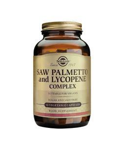 Solgar Saw Palmetto & Lycopene Complex 50 Veg. Caps