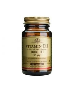 Solgar Vitamin D3 1000IU 90 Tabs