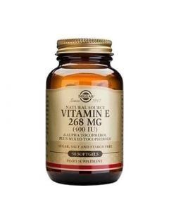 Solgar Vitamin E 400IU 50 Softgels