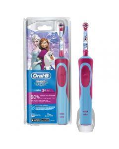 Oral-B Vitality Kids Frozen Ηλεκτρική Παιδική Επαναφορτιζόμενη Οδοντόβουρτσα  3+ Ετών 1 Τεμάχιο