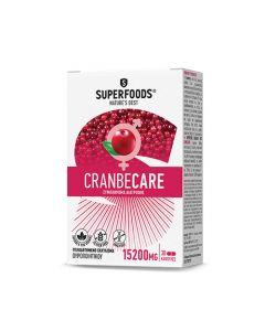 Superfoods Cranbecare 15200mg 30 Caps