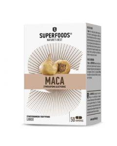 Superfoods Maca Eubias 50 Caps