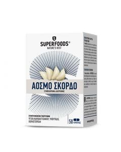 Superfoods Odorless Garlic 50 Caps