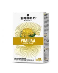 Superfoods Golden Root Rhodiola 30 Caps