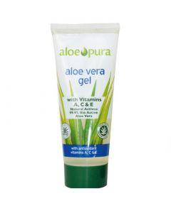 Optima Organic Aloe Vera Gel with Vitamin A,C & E 200ml Ζελ Αλόη Βέρα με Βιταμίνες