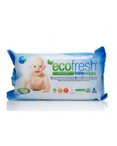 Asepta Ecofresh Baby Wipes Μωρομάντηλα 72 Τεμάχια