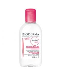 Bioderma Sensibio H2O 250ml Cleansing Solution - De make up