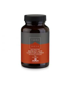 Terranova Beetroot Juice, Cordyceps & Reishi 70gr Ενέργεια - Τόνωση