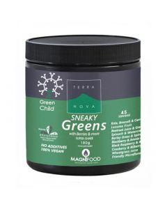 Terranova Green Child Sneaky Greens Super-shake 180gr Superfoods for Children