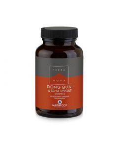 Terranova Dong Quai Soya Sprout Complex 50 Caps Women's Hormone Balance