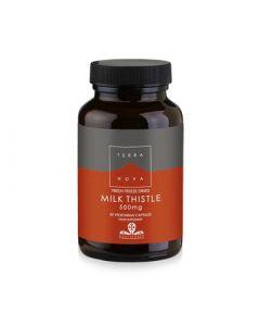 Terranova Milk Thistle 500mg 50 Caps Αποτοξινωτικό