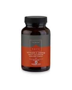 Terranova Vitamin C 250mg Complex 50 Caps with Superfoods