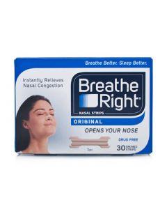 Breathe Right Nasal Strips Small/Medium Size 30 Items