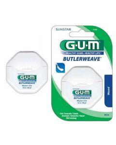 Gum Weave Dental Floss Waxed Οδοντικό Νήμα Κηρωμένο