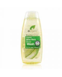 Dr. Organic Aloe Vera Body Wash 250ml Αφρόλουτρο με Αλόη Βέρα