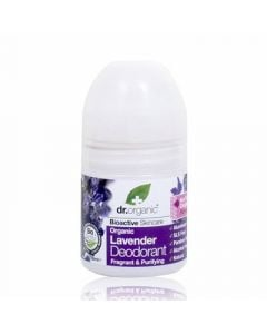 Dr. Organic Lavender Deodorant 50ml Αποσμητικό Λεβάντα