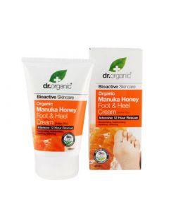 Dr. Organic Manuka Honey Foot and Heel Cream 125ml
