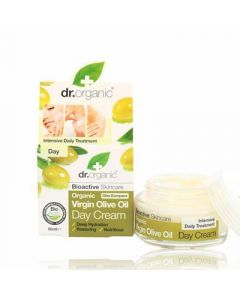 Dr. Organic Virgin Olive Oil Day Cream 50ml Ενυδατική Κρέμα Ημέρας με Παρθένο Λάδι Ελιάς