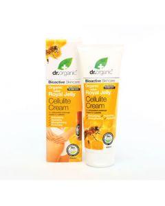 Dr. Organic Royal Jelly Cellulite Cream 200ml Κρέμα κατά της Κυτταρίτιδας με Βασιλικό Πολτό