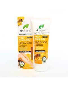 Dr. Organic Royal Jelly Leg & Vein Cream 200ml Κρέμα Ποδιών με Βασιλικό Πολτό