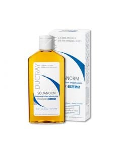 Ducray Shampooing Squanorm 200ml Shampoo for Oily Dandruff
