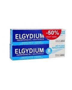 Elgydium Antiplaque Toothpaste 2 x 100ml