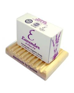 Epsilon Geronymakis Handmade Organic Olive Oil Soap with Lavender  80gr