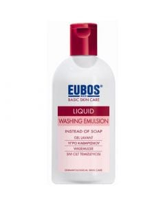 Eubos Liquid Washing Emulsion Red 200ml Υγρό Καθαρισμού