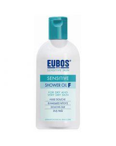 Eubos Sensitive Shower Oil F 200ml Αφρόλουτρο