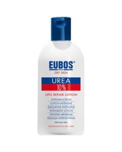 Eubos Urea 10% Lipo Repair Lotion 200ml for Evening Application