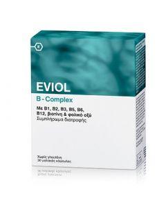 Eviol B-Complex 30 Caps Σύμπλεγμα Βιταμινών Β