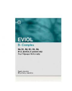 Eviol B-Complex 60 Caps Σύμπλεγμα Βιταμινών Β