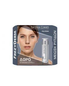 Frezyderm Beauty Sparkles Dermiox Cream 50ml Αντιγηραντική Κρέμα + ΔΩΡΟ Neck Contour Cream Κρέμα Σύσφιξης για το Λαιμό 15ml + Eye Cream Κρέμα Ματιών 5ml