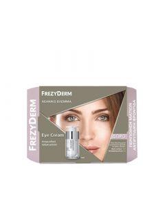 Frezyderm Anti-Wrinkle Eye Cream Αντιρυτιδική Κρέμα Ματιών 15ml + ΔΩΡΟ Neck Contour 15ml για το Λαιμό + Revitalizing Serum Ορός Αντιγήρανσης 5ml