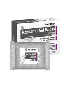 Frezyderm Rectanal Aid Wipes 20 Μαντηλάκια για τον Καθαρισμό των Αιμμοροΐδων