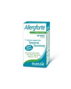 Health Aid Allergforte 60 Tabs Allergies
