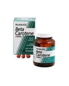 Health Aid Beta Carotene 23000iu 30 Caps Βήτα-Καροτίνη