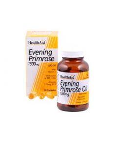 Health Aid Evening Primrose 1,3gr 30 Caps Έλαιο Νυχτολούλουδου