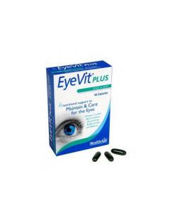 Health Aid Eye Vit Plus 30 Caps Φροντίδα Ματιών