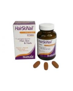 Health Aid Hairskinail Hair, Skin & Nails 30 Tabs Μαλλιά - Δέρμα - Νύχια