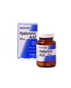 Health Aid Hyaluronic Acid 55mg 30 Tabs