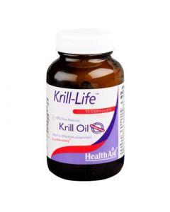 Health Aid Krill Life Oil 90 Caps Έλαιο Krill